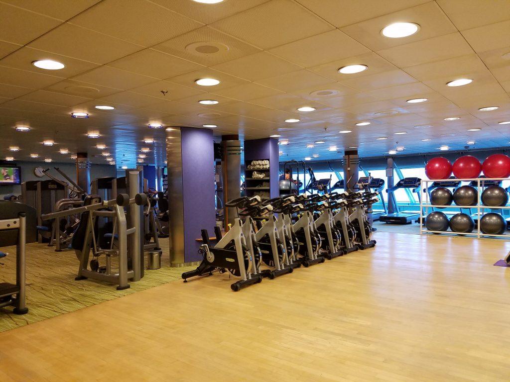 Celebrity Millenium - Gym