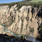 Lower Falls of Yellowstone Grand Canyon
