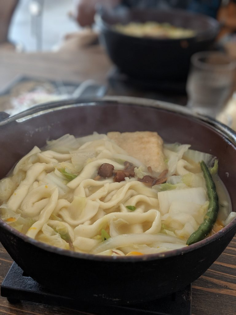 Hiking Japan: Fujisan - Hotou noodles