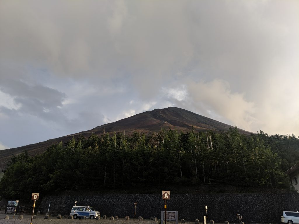 Fujisan from the Fuji-Subaru Line 5th Station