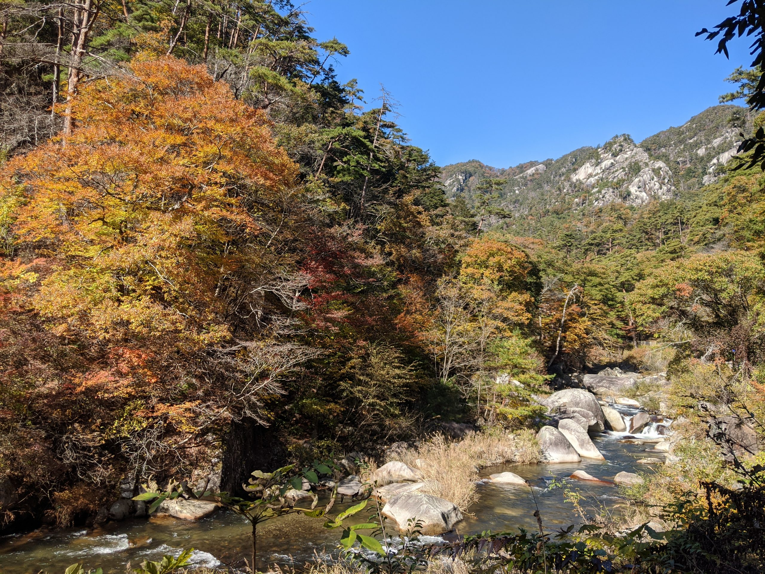 Exploring Japan: Day trip to Shosenkyo Gorge (御嶽昇仙峡) in Kofu, Yamanashi