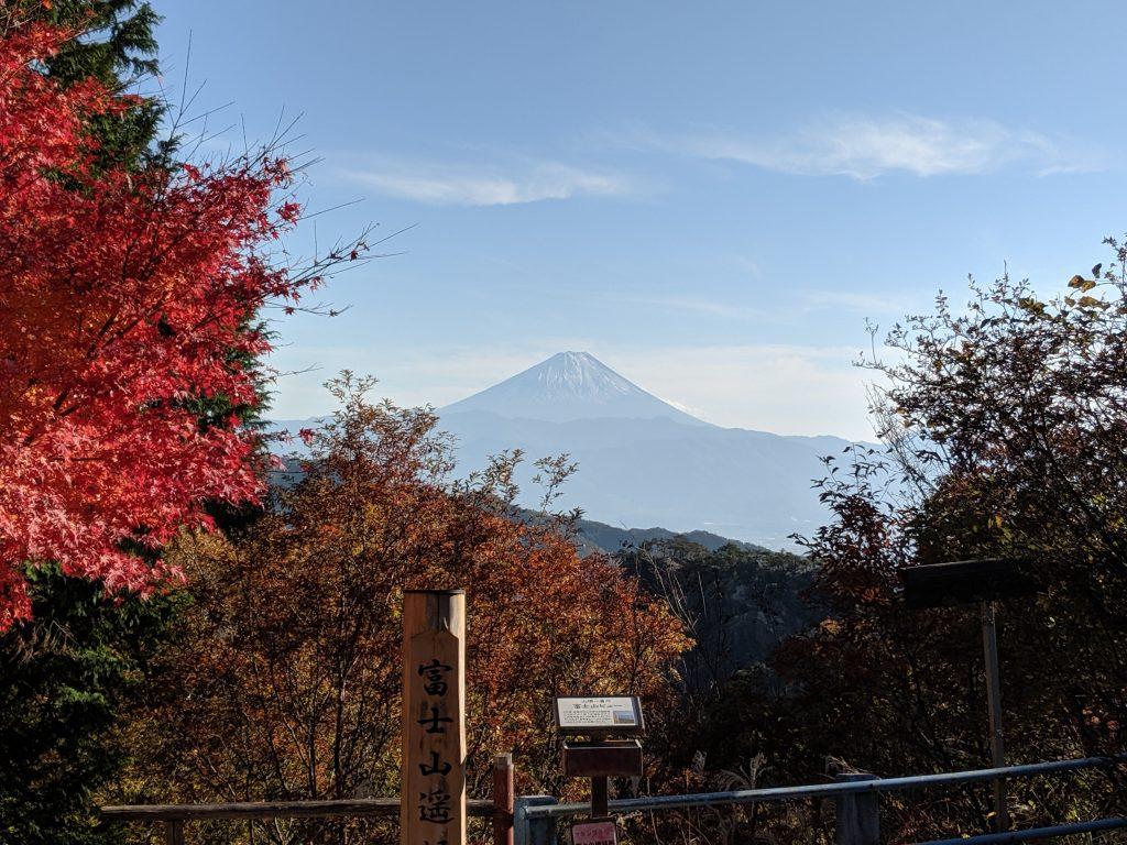 Mount Fuji viewing spot